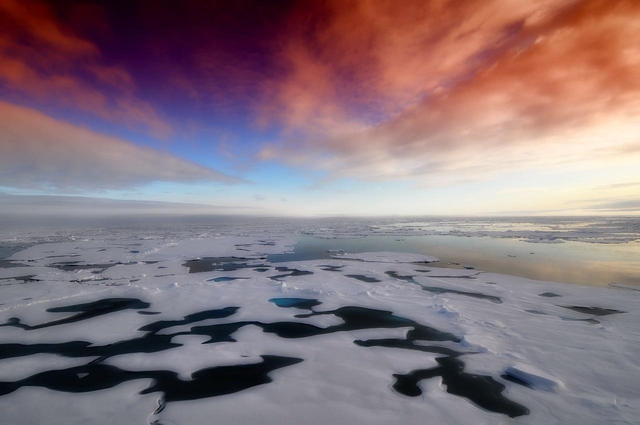 Šios liepos anomalijos Arktyje: stulbinantys karščio rekordai ir neįprasti reiškiniai