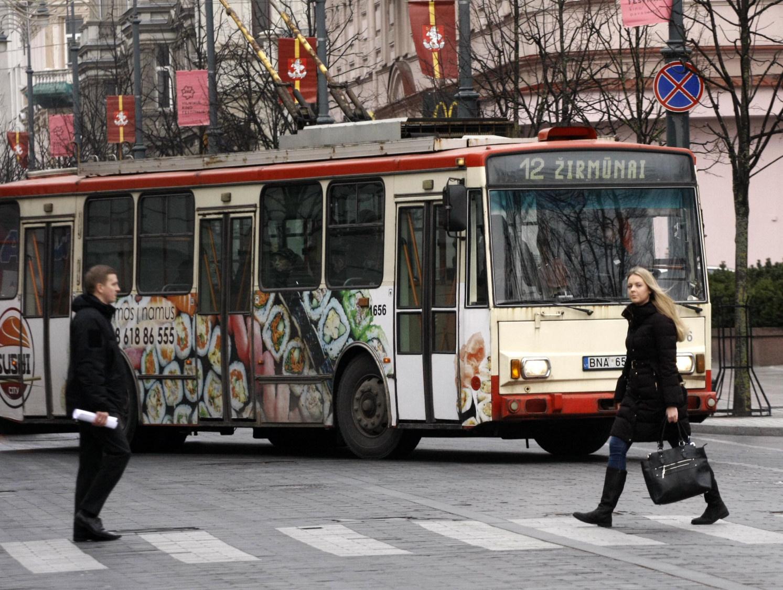 Vilniuje viešasis transportas kursuos dažniau ir bus talpesnis