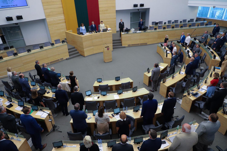 Seimas imasi bankų ir kreditų įmonių apmokestinimo