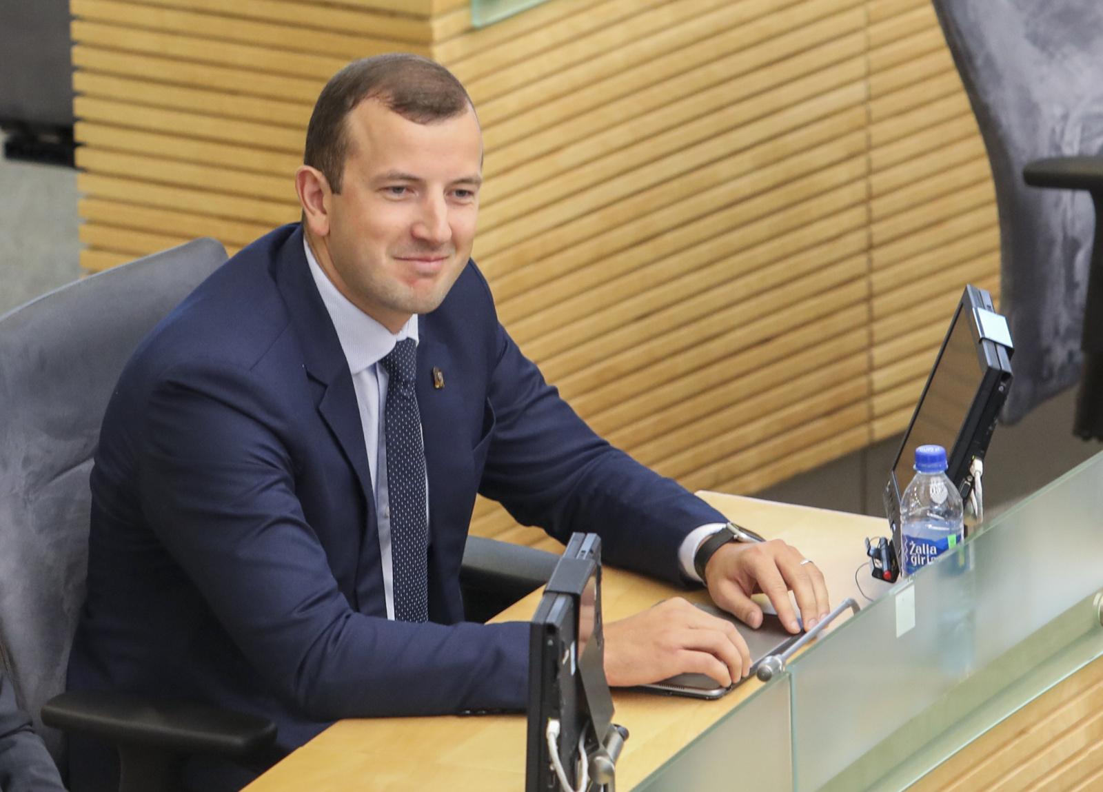 Seimas pritarė V. Sinkevičiaus kandidatūrai į Europos Komisiją