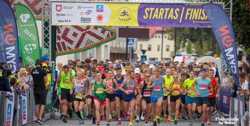 Dzūkijos sostinėje – vaizdingiausias šalyje pusmaratonis ir makaronų fiesta