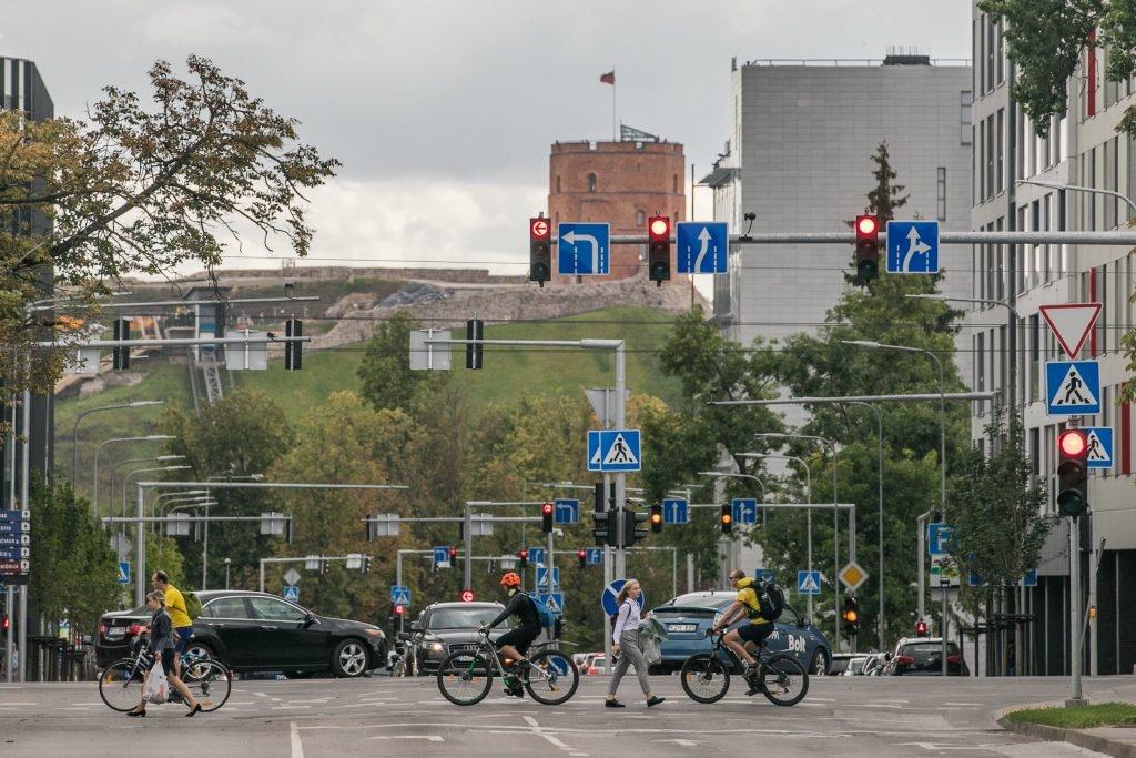 Vilnius aktyviai ruošiasi rugsėjui – šviesoforų reguliavimas, atviri duomenys ir efektyvesnis vaizdo stebėjimas realiuoju laiku