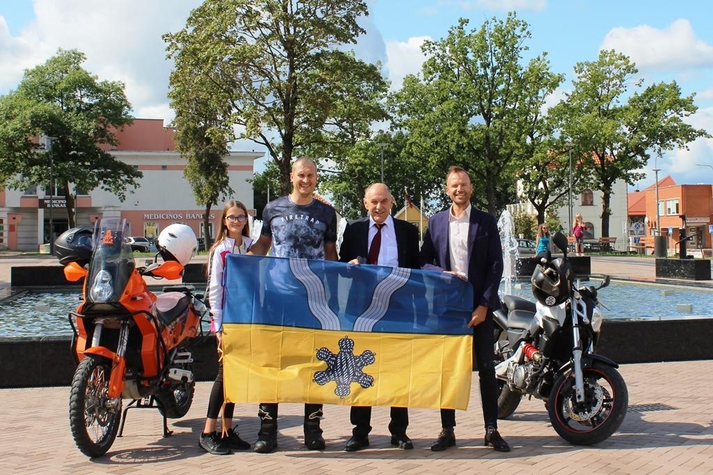 """Kupiškėnai išlydėti į """"Ryterna Modul Mototourism rally"""""""