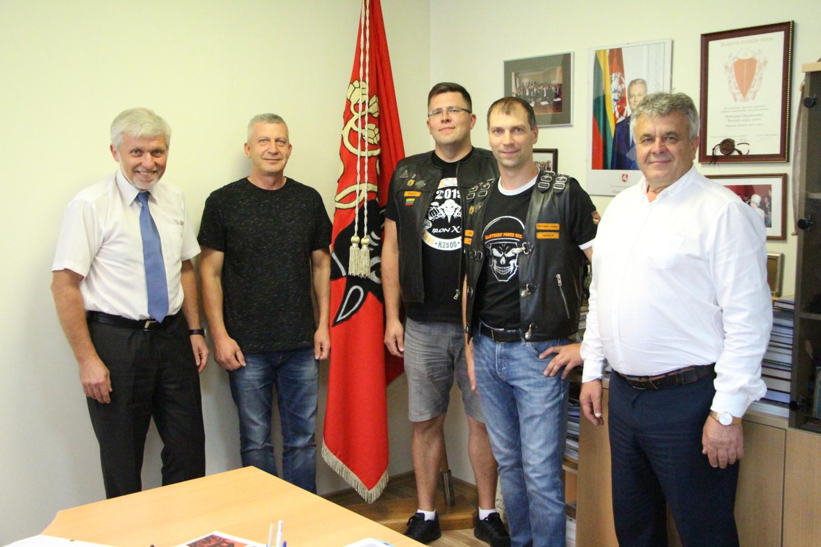 """BROTHER POWER komanda atstovaus Pasvalį """"Ryterna modul Mototourism rally Baltijos Keliui 30"""""""