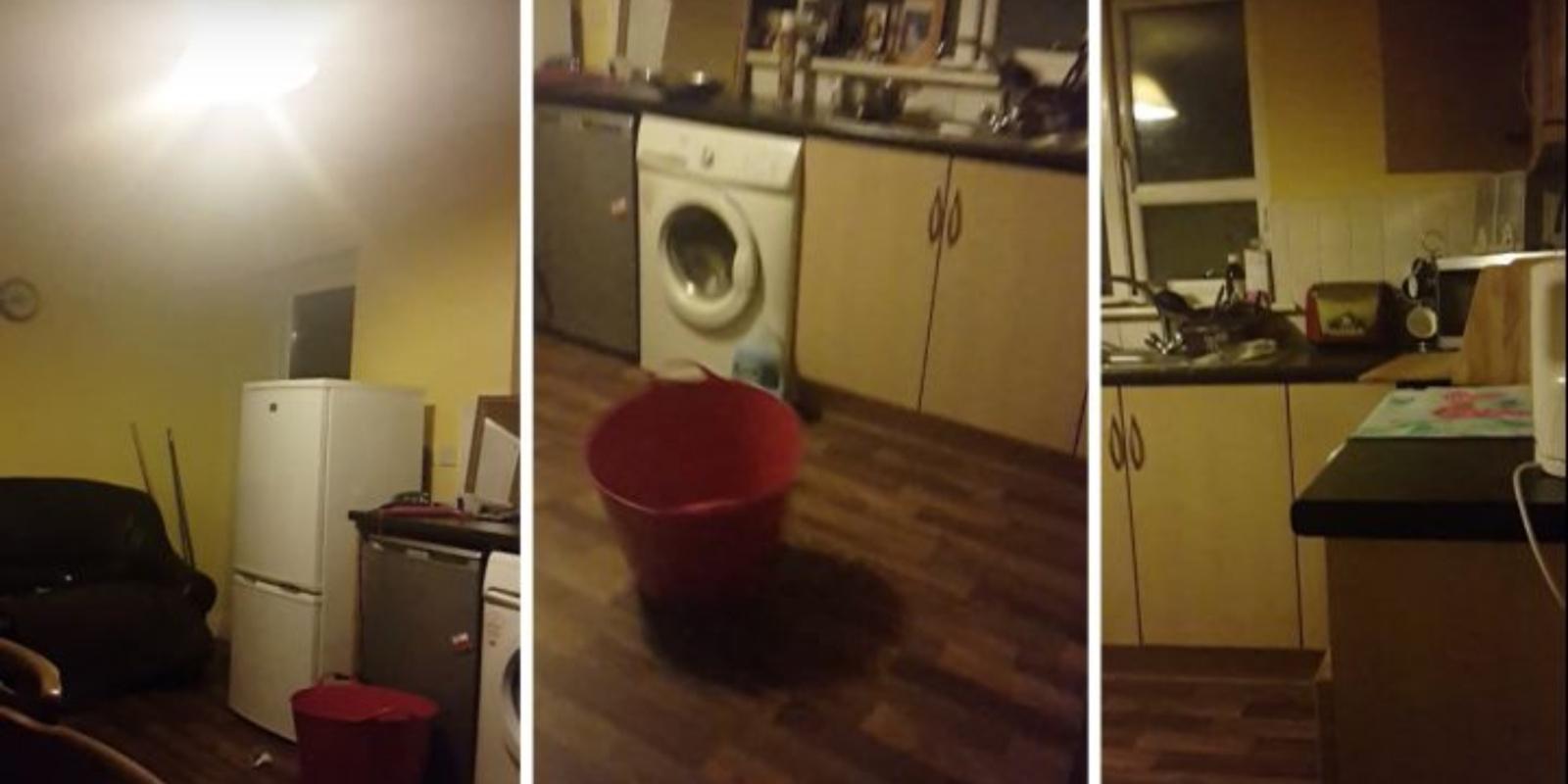 Paranormalūs reiškiniai: moters namuose patys skraido daiktai, juda baldai (vaizdo įrašas)