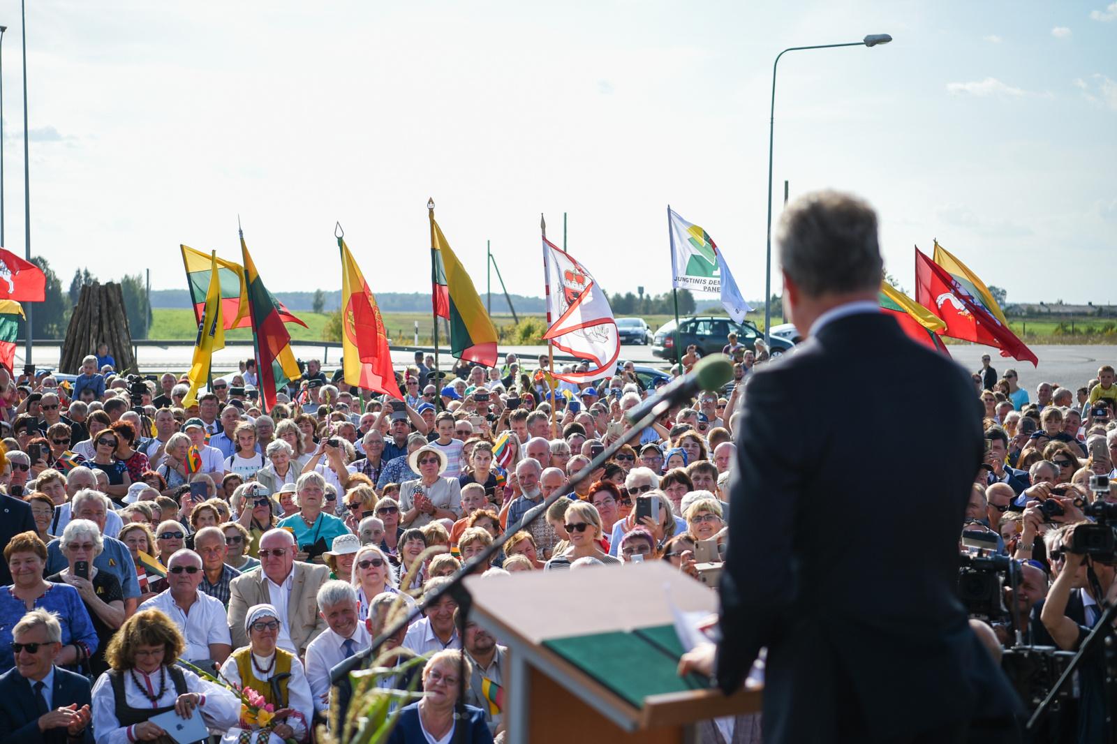 G. Nausėda: Baltijos kelias - tai bendrumas, vienybė ir telkianti jėga (nuotraukų galerija)