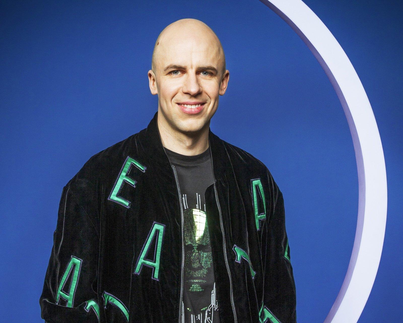 V. Bareikis pristato naujausią albumą bei trapiausią savo dainą (vaizdo įrašas)