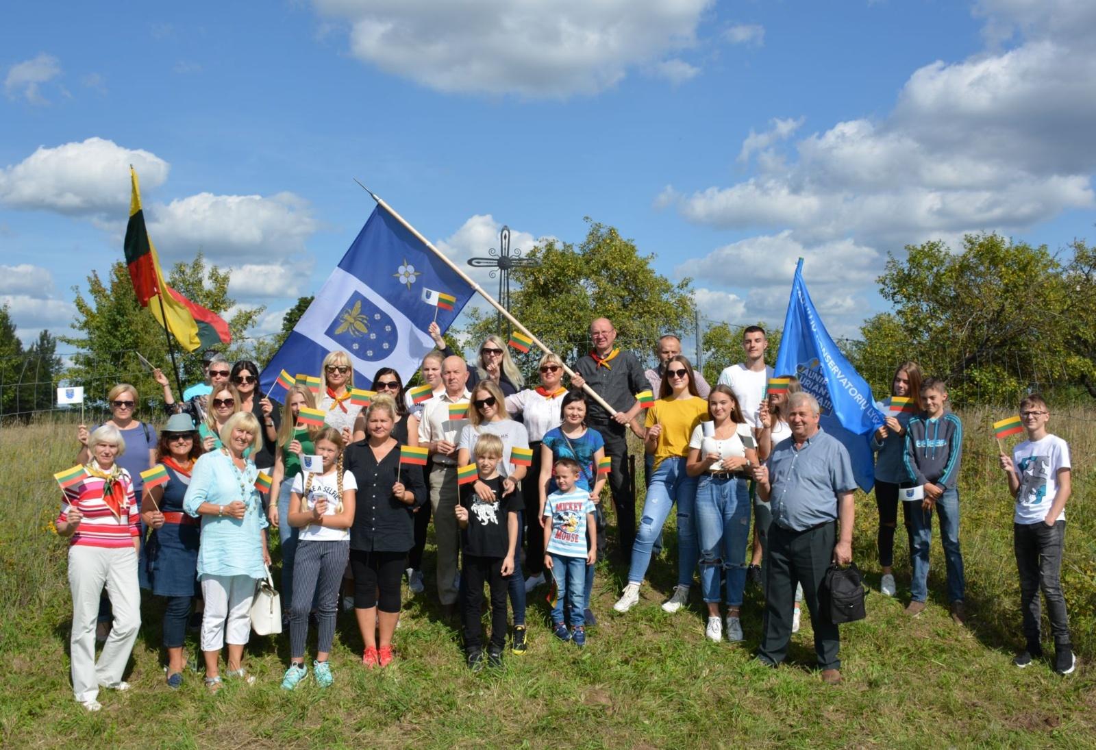 Baltijos kelio trisdešimtmečio renginiuose dalyvavo ir varėniškiai