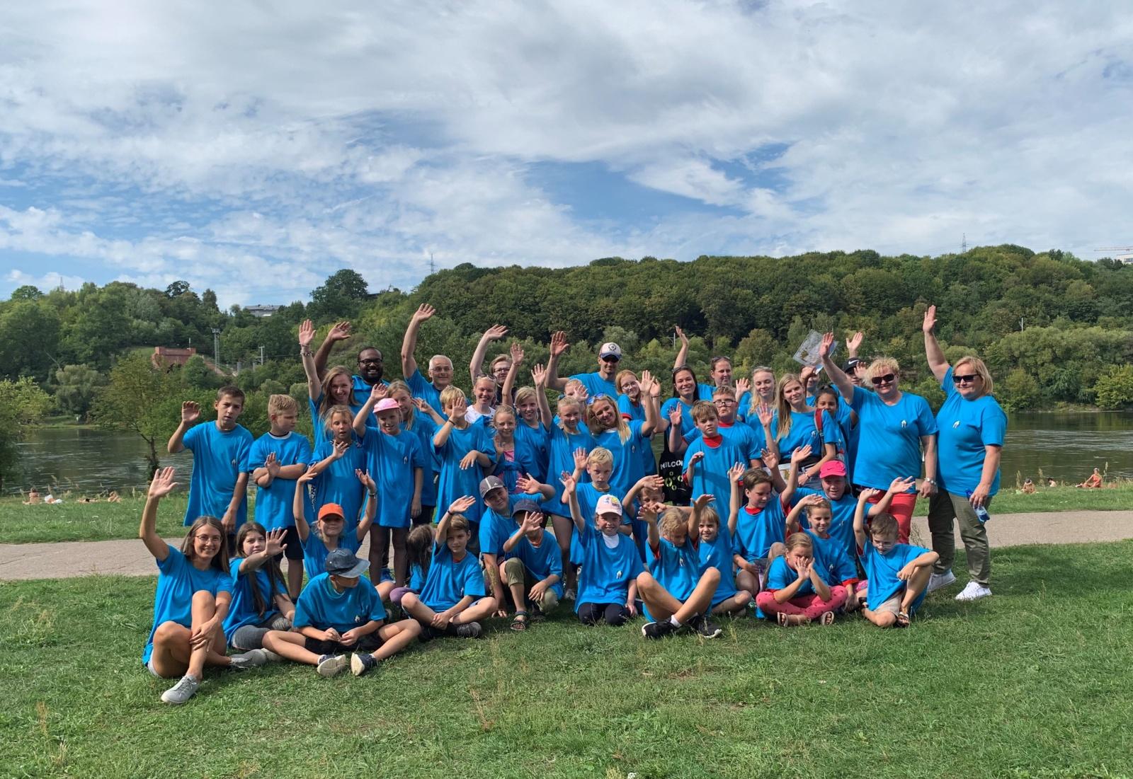 Vaiko teisių gynėjai paskatino mažuosius išbandyti orientavimosi sporto trasą