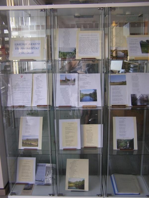 Varėnos krašto vietovardžiai poezijoje