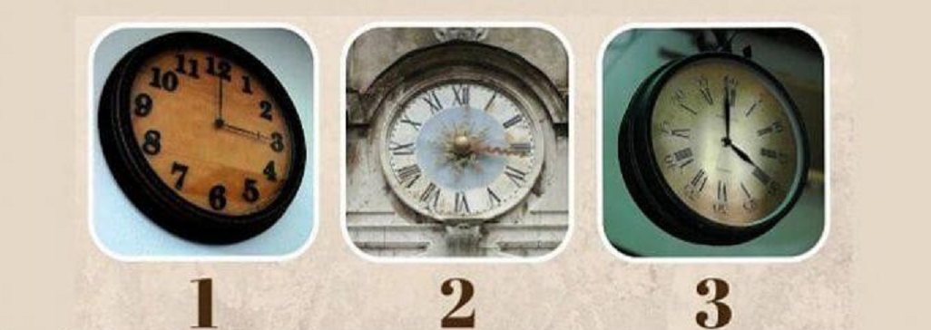 Išsirinkite laikrodį ir gaukite informacijos apie savo praėjusį gyvenimą