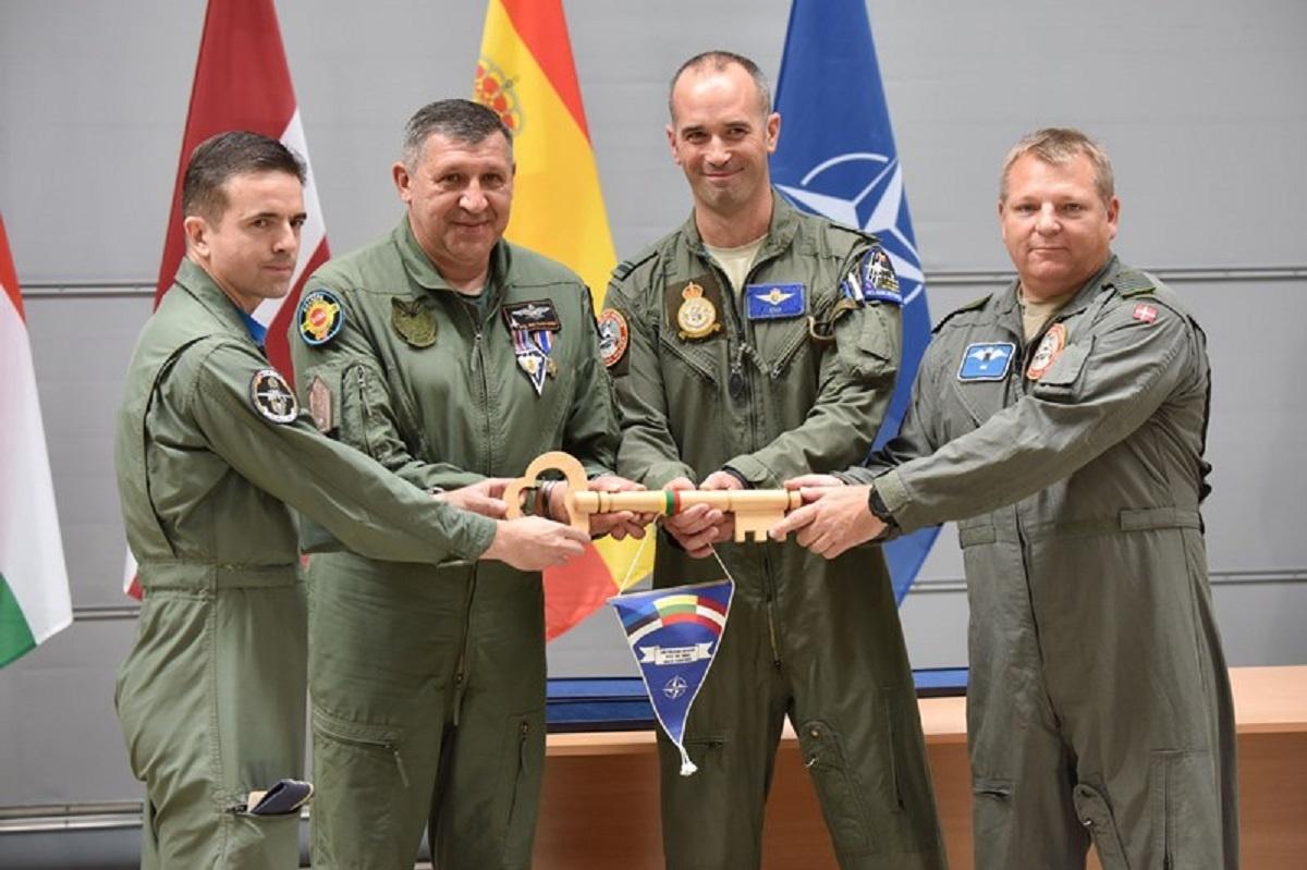 """Krašto apsaugos viceministras  V. Umbrasas:  """"NATO oro policijos misija  Baltijos šalims išlieka tokia pat svarbi kaip visada"""""""