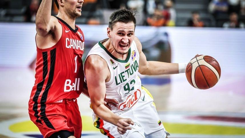 Lietuvos krepšininkai nugalėjo kanadiečius ir užsitikrino vietą antrajame etape