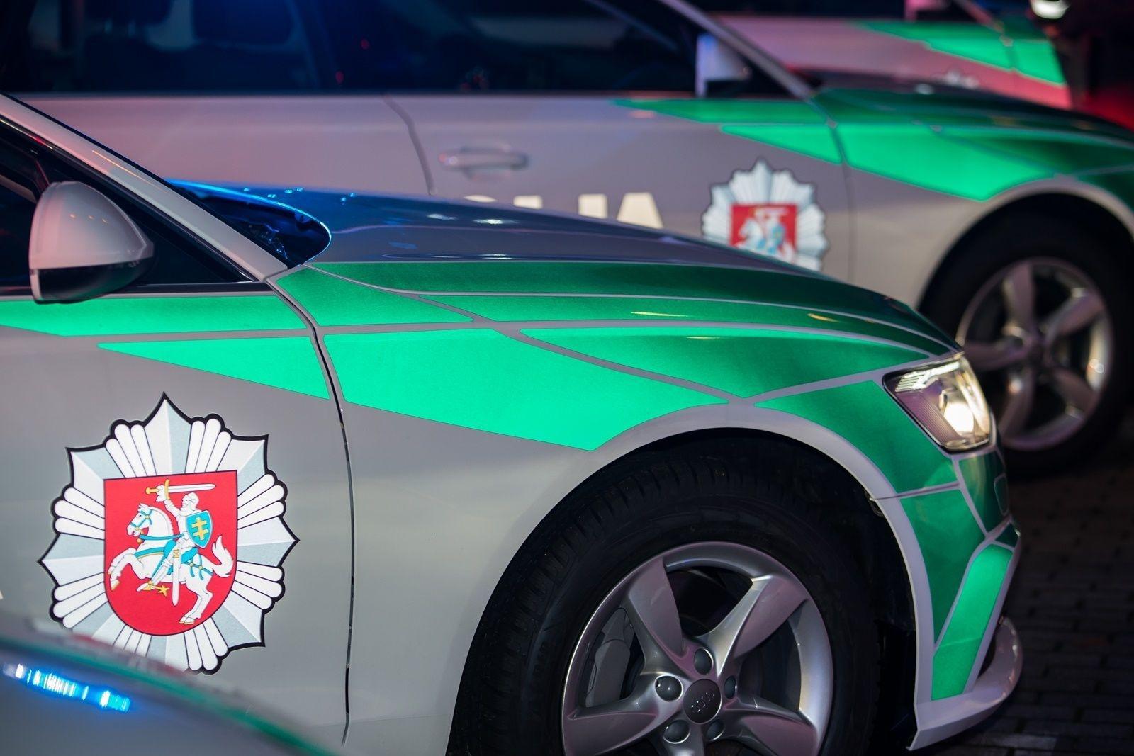 """Pagėgiuose sulaikytas neblaivus """"BMW"""" vairuotojas"""