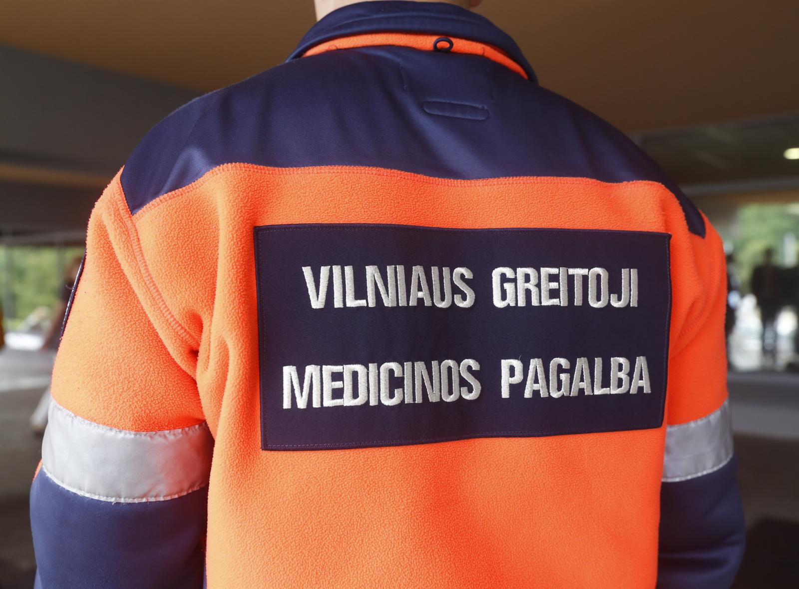 Vilniuje automobilis partrenkė paspirtuku važiavusį vaiką