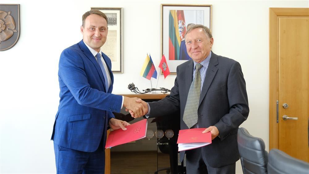 """Pasirašyta investicijų sutartis su UAB """"Koslita"""""""