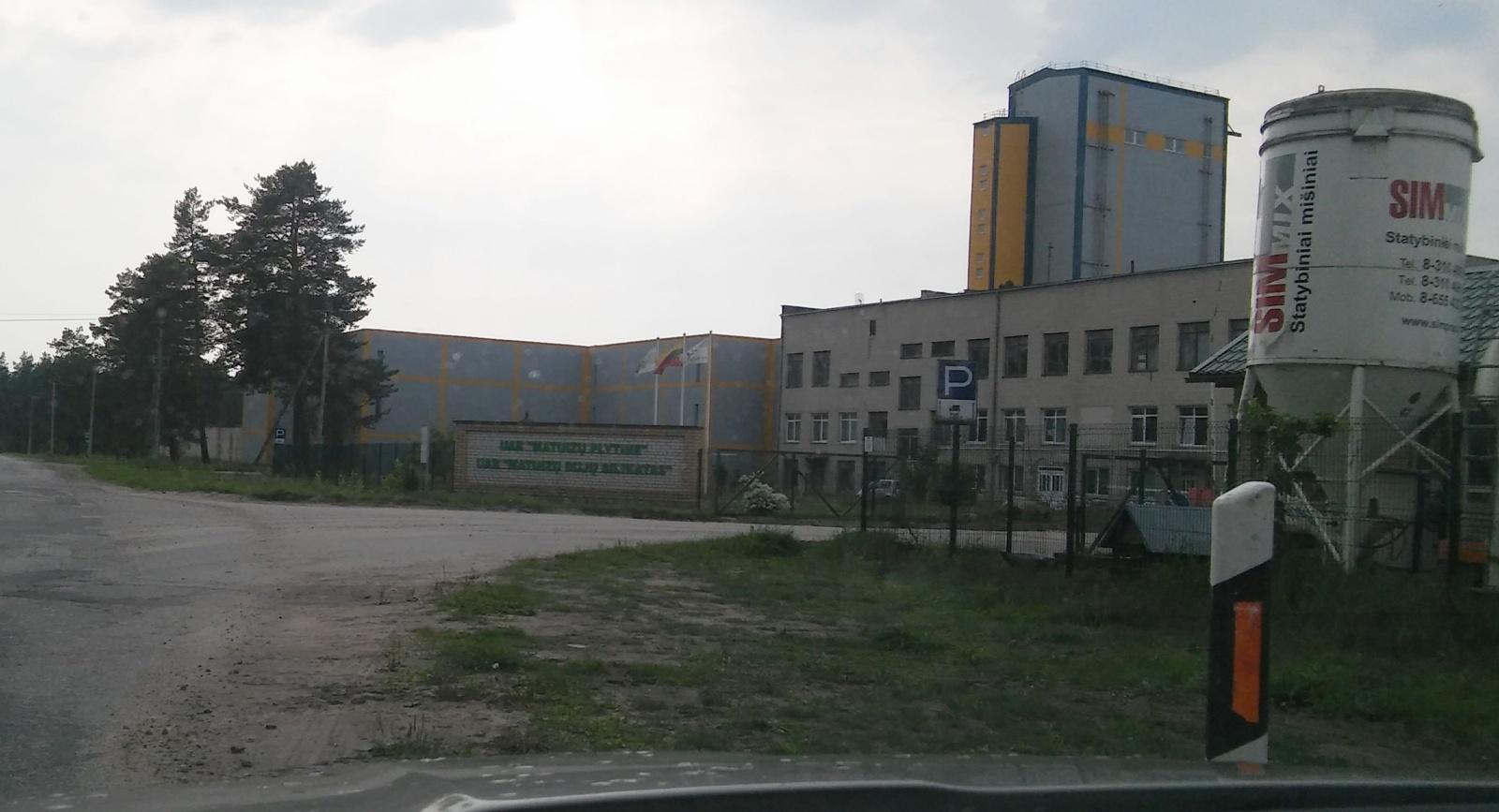 Matuizų gamyklos veiklą žadama atnaujinti