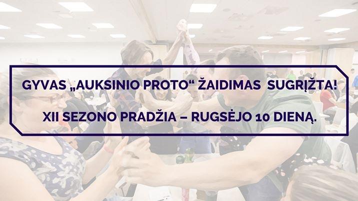 """""""Auksinio proto"""" žaidimai Ignalinoje"""