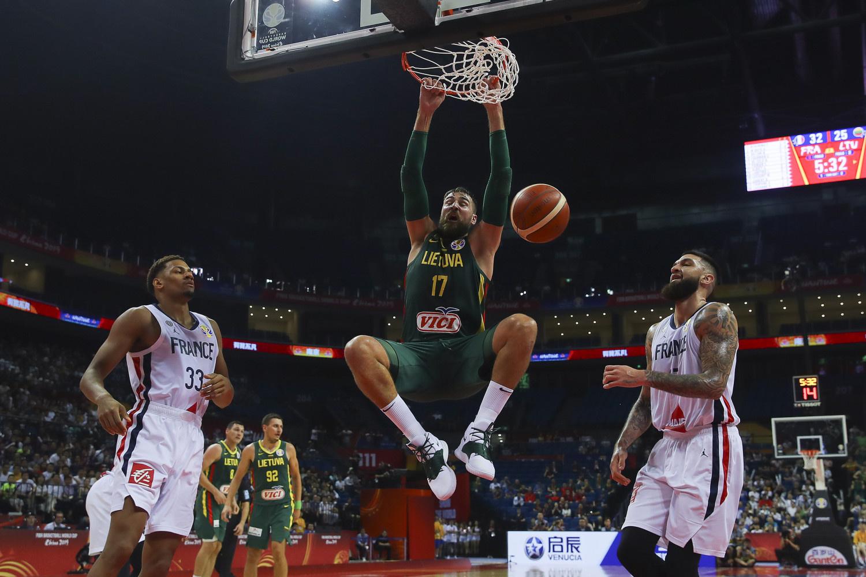 Lietuvos krepšininkai pralaimėjo prancūzams ir liko už ketvirtfinalio borto