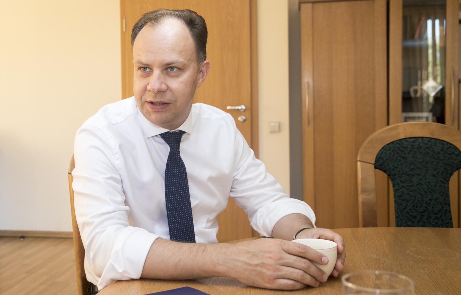 A. Veryga su užsienio ekspertais diskutuos skiepų klausimais