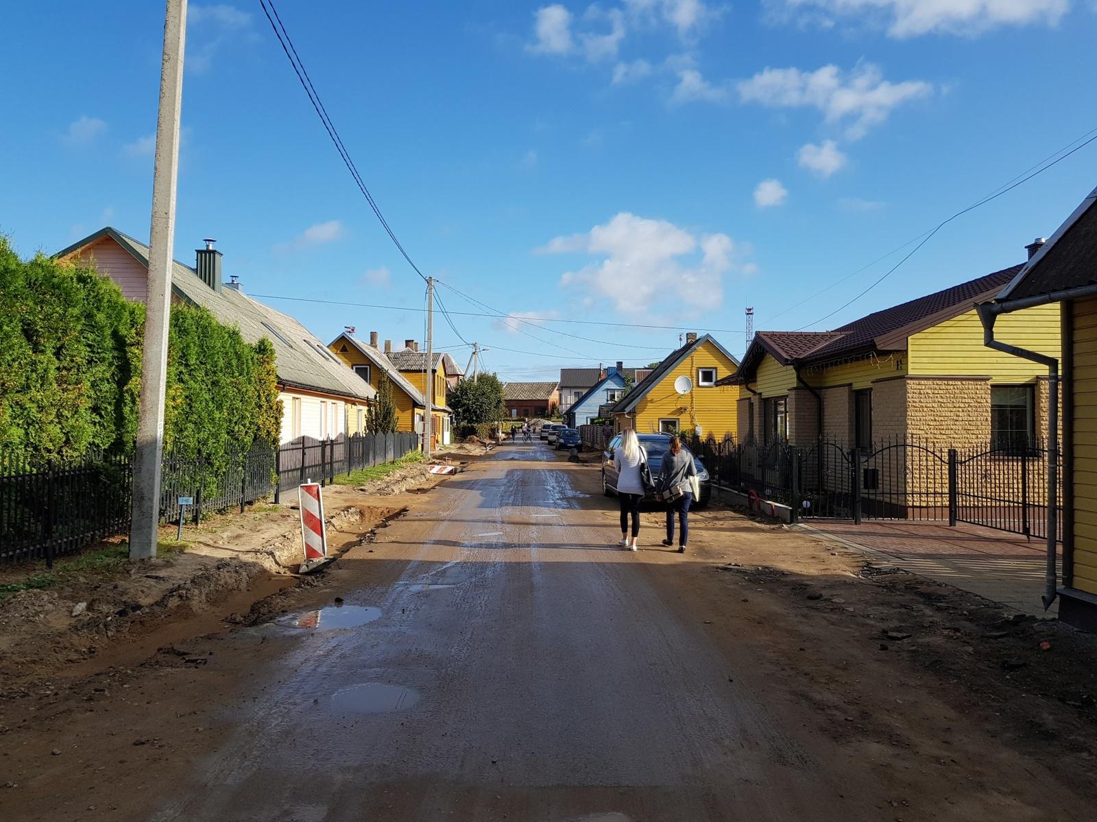Savivaldybėms – dar viena galimybė asfaltuoti vietinius kelius