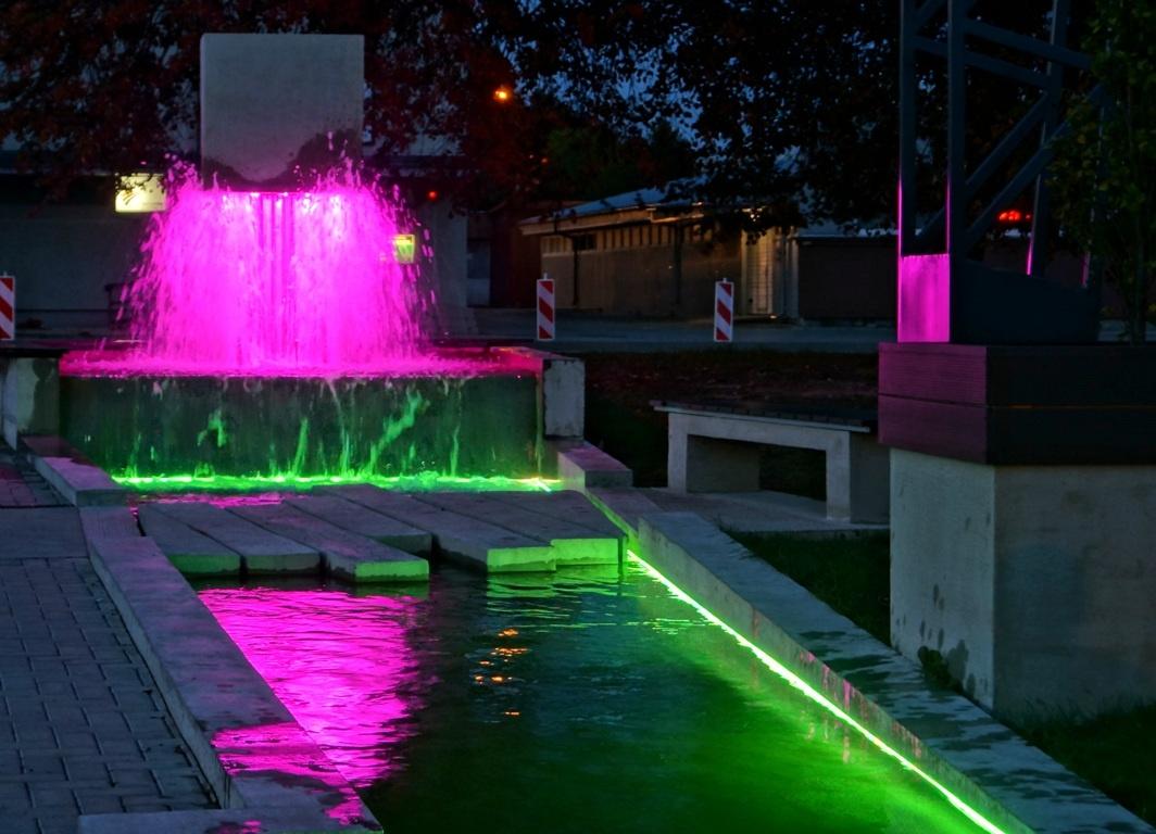 Raseiniuose – unikalus fontanas