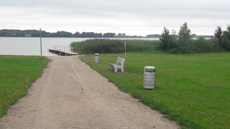 Giluičio paplūdimyje bus įrengtas pontoninis lieptas