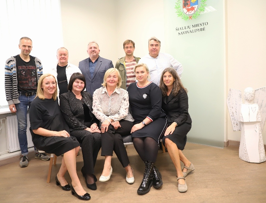 Darbą pradėjo 2019-2022 m. kadencijos Šiaulių miesto savivaldybės Kultūros taryba