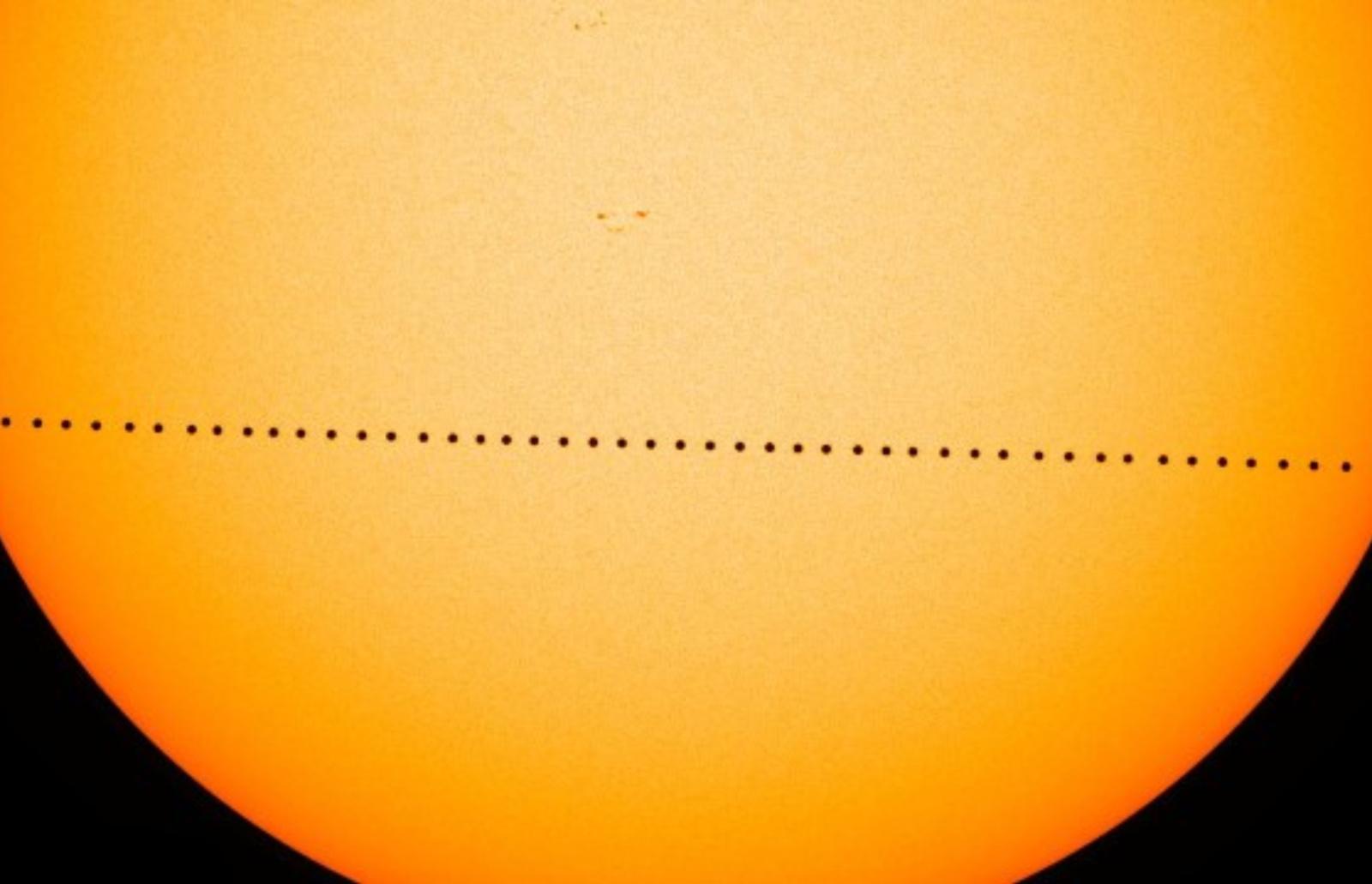 Retas reginys: lapkritį įvyks Merkurijaus tranzitas per Saulę (vaizdo įrašas)