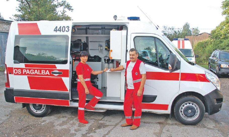Geros skubios medicinos pagalbos naujienos: šią savaitę darbą pradėjo klasterinės pagalbos brigada