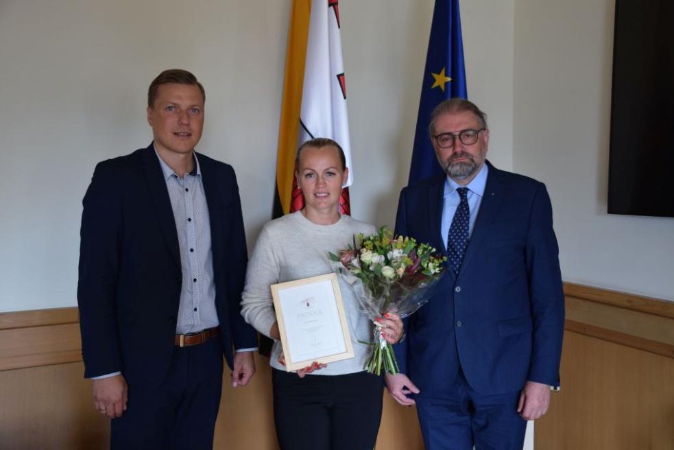 Pasveikinta pasaulio ultratriatlono nugalėtoja panevėžietė Alina Ranceva