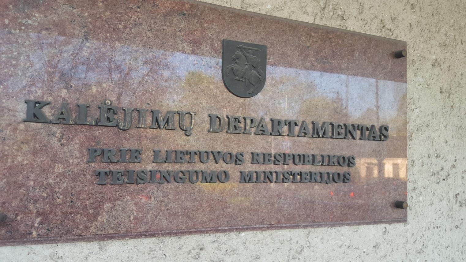 Tęsiama Kaune iš darbo vietos pasišalinusio kalinio paieška