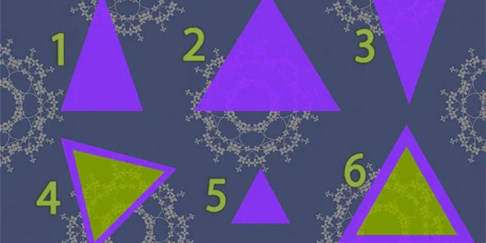 """""""Trikampio"""" tapatybės nustatymo testas"""