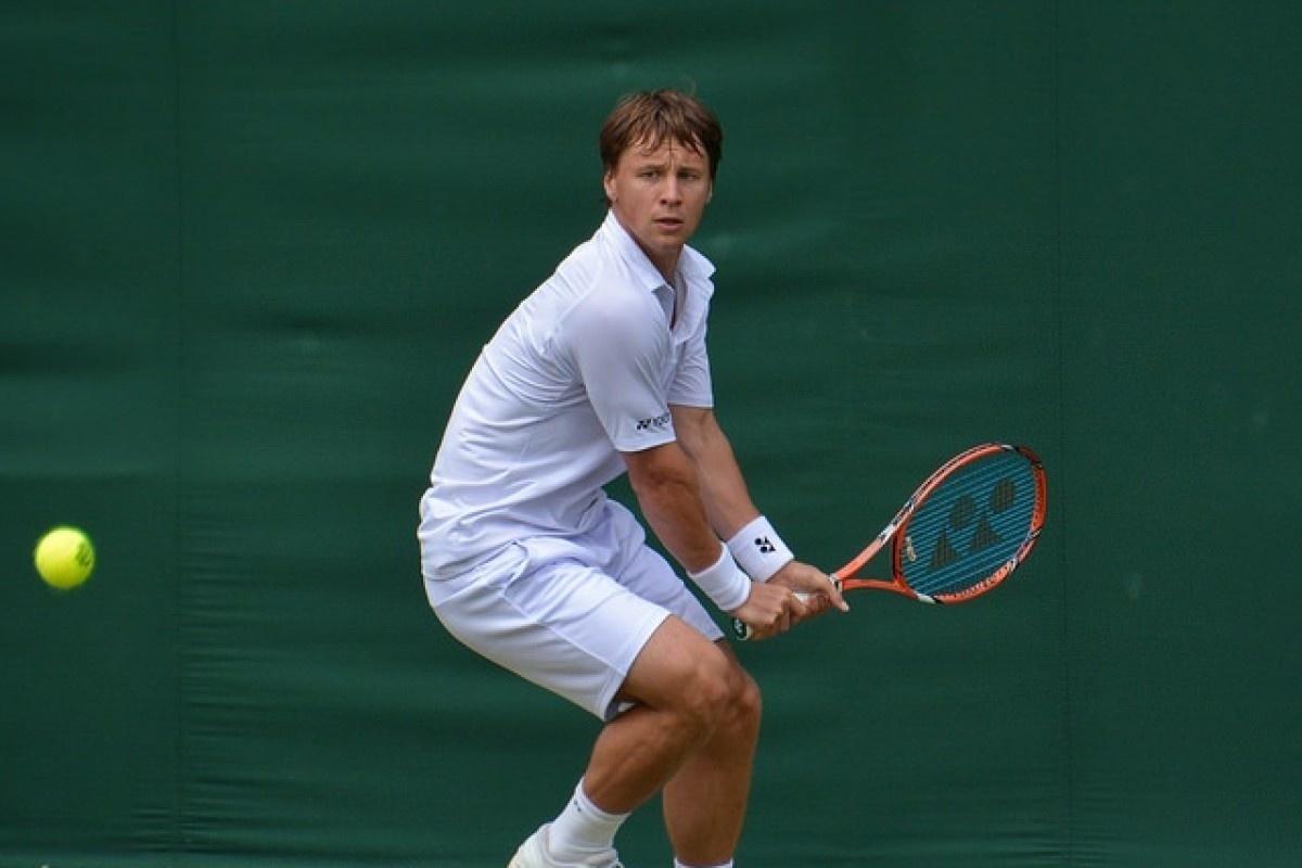 Tenisininkas R. Berankis su J. Tipsarevičiumi Rusijoje pralaimėjo favoritams