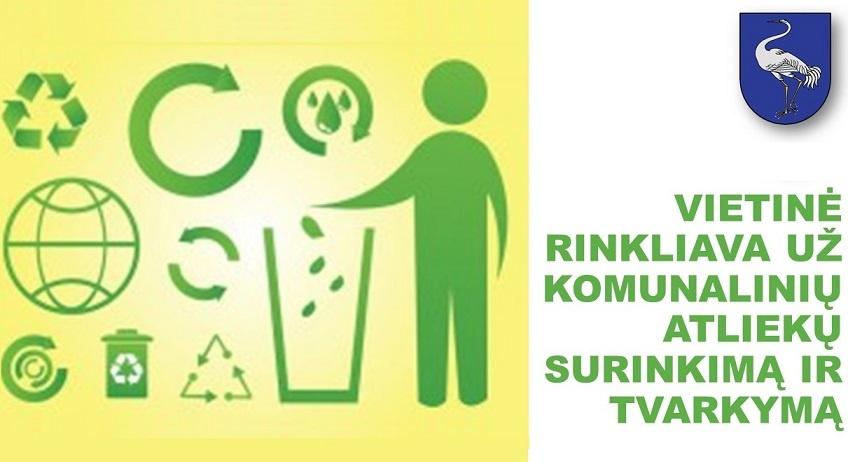 Rinkliavos už atliekų tvarkymą mokėtojų dėmesiui