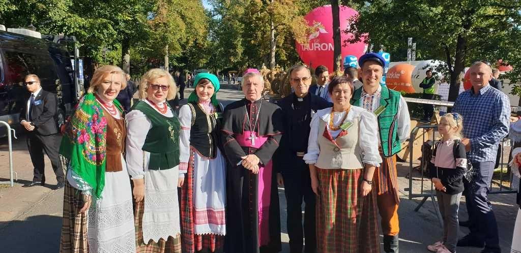 Vilniaus rajono savivaldybės atstovai dalyvavo Lenkijos Prezidento Derliaus šventėje Spala mieste
