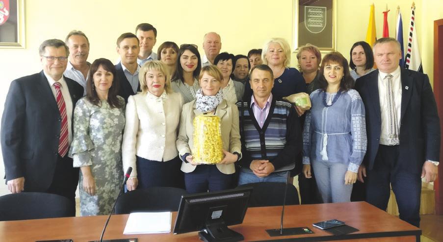 Savivaldybėje - delegacija iš Ukrainos