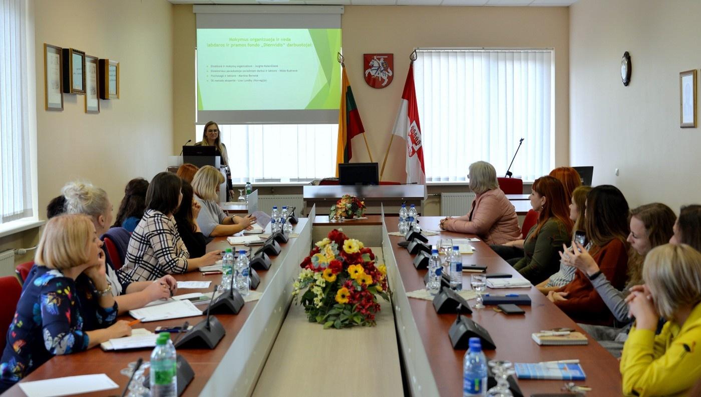 Šeimos konferencijos metodo mokymų programos pristatymas Šilalėje