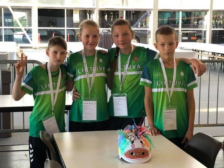 LAS komanda užėmė 9 vietą Europos saugaus eismo konkurse