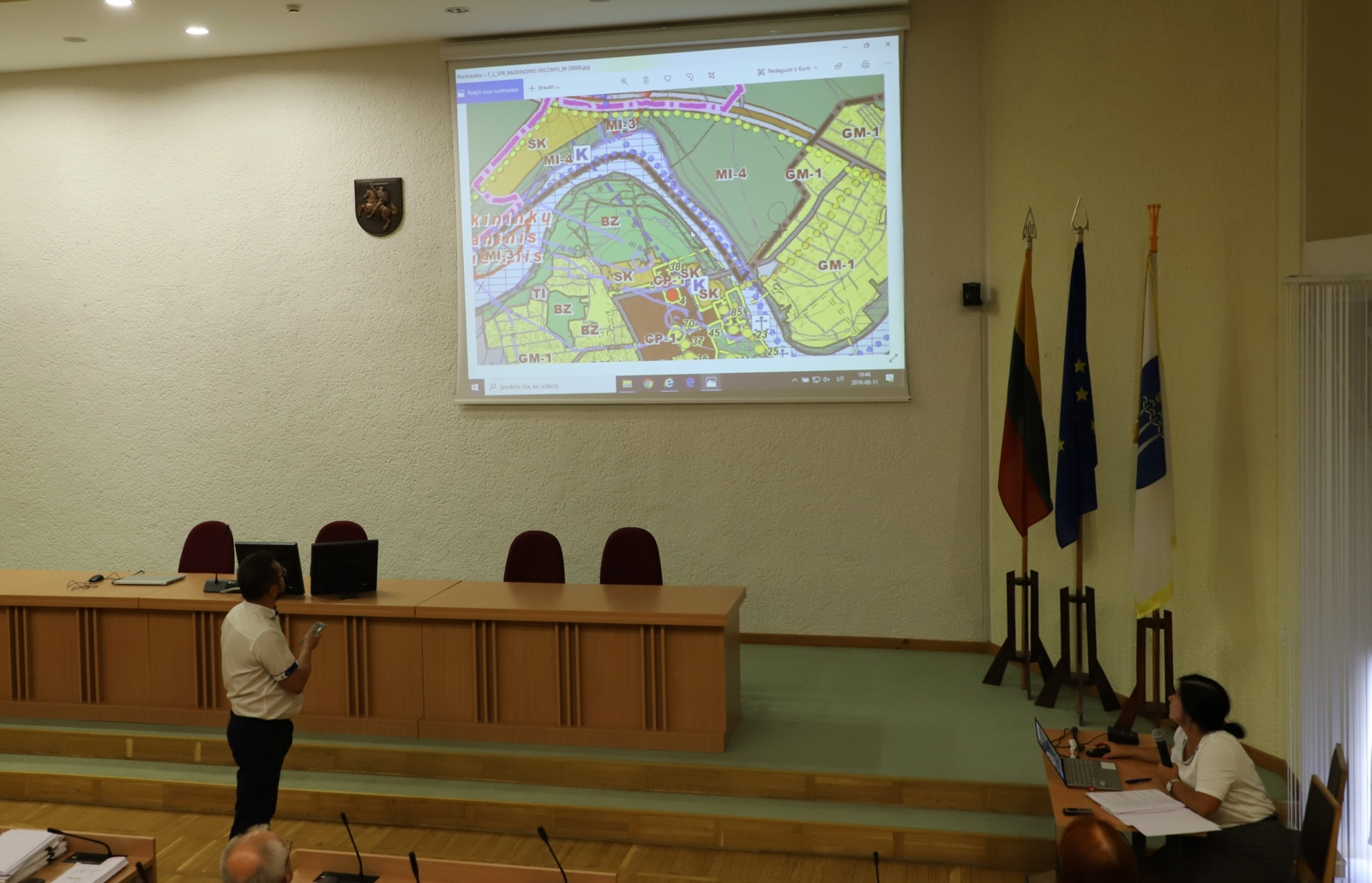Aptarti Druskininkų savivaldybės teritorijos bendrojo plano keitimo sprendiniai