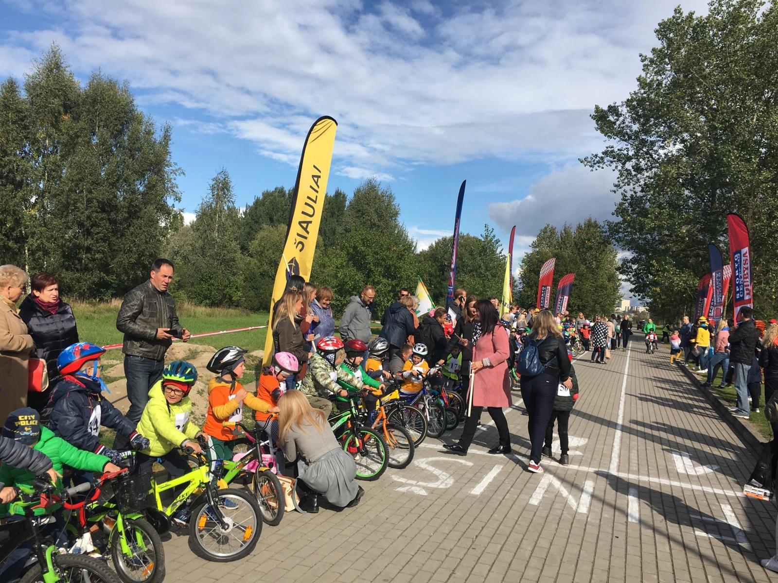 Šiaulių miesto ikimokyklinio ugdymo įstaigų dviratukų varžybos