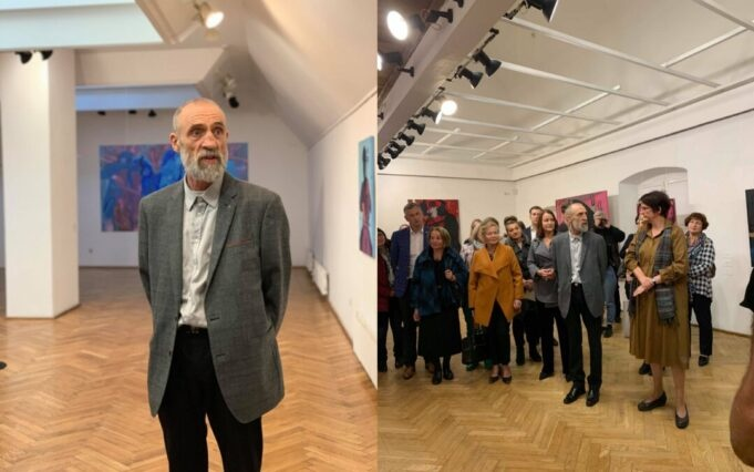 """""""Arka"""" galerijoje – Raimondo Gailiūno tapybos darbų paroda"""