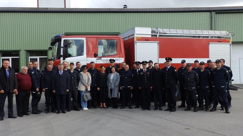 Meras dalyvavo dalyvavo Molėtų PGT pareigūnų priesaikos ceremonijoje