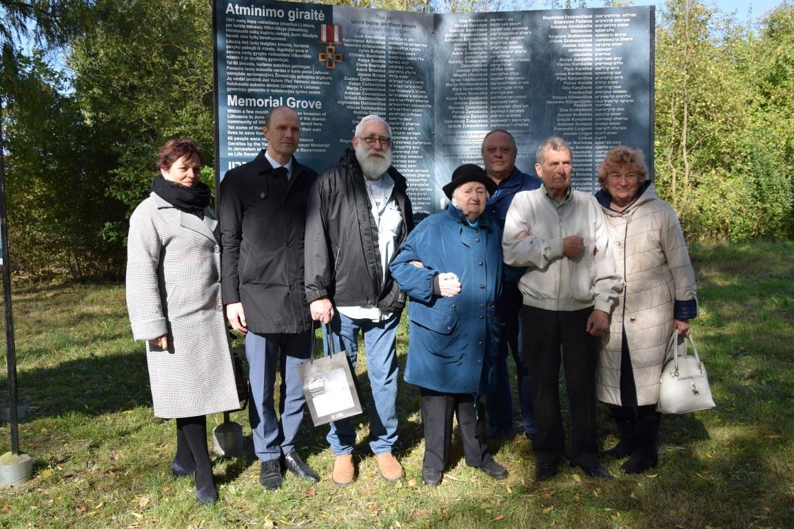 Minėjime prisimintas skaudus žydų tautos likimas