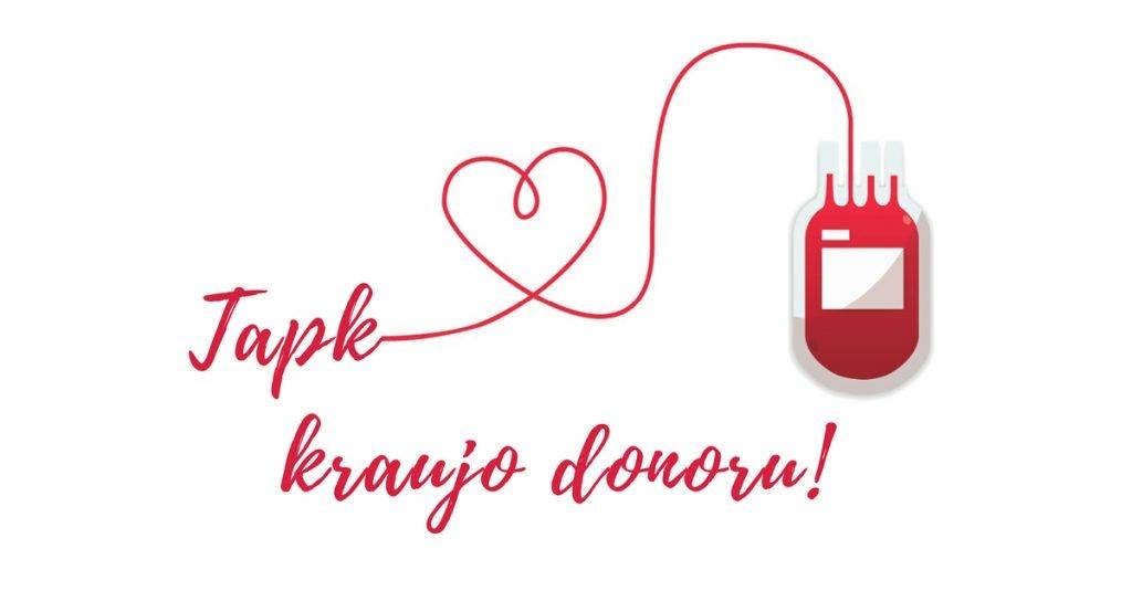 Visagine – kraujo donorystės akcija