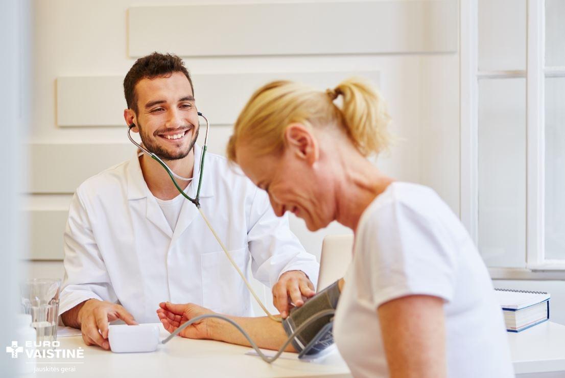 Idealus kraujo spaudimas 120 ir 80: normų ribas pasitikrinkite lentelėje