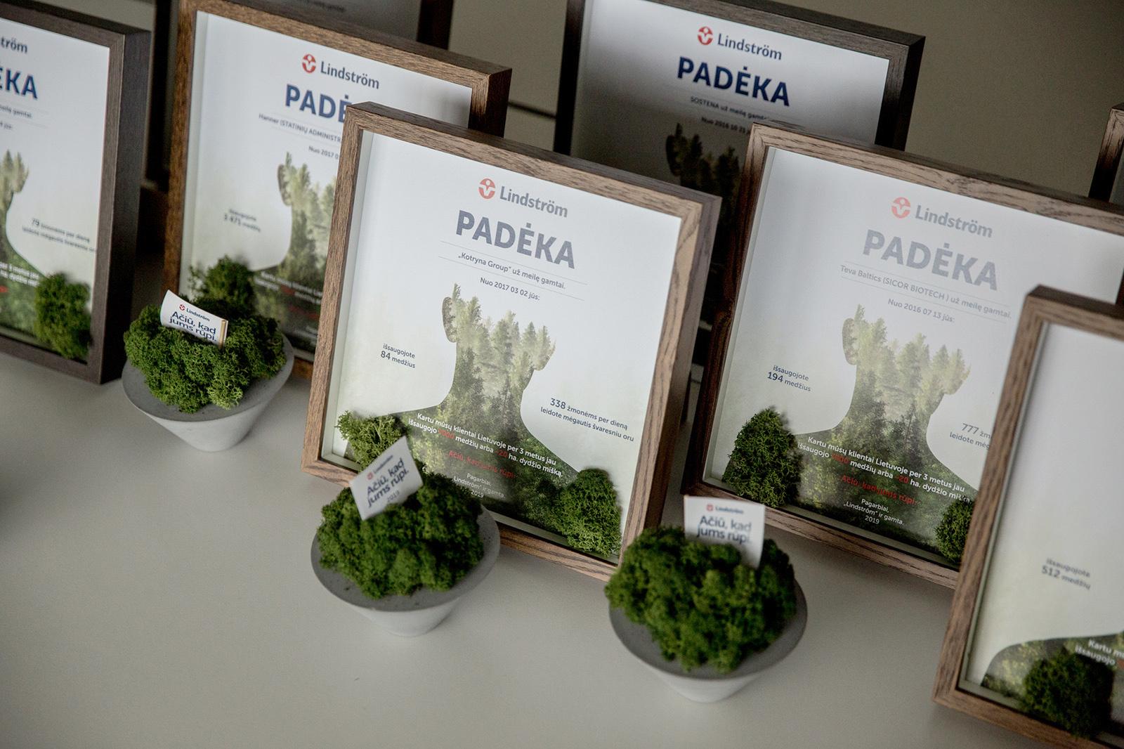 Apdovanotos ekologiškiausios Lietuvos įmonės: išsaugojo virš 7000 medžių