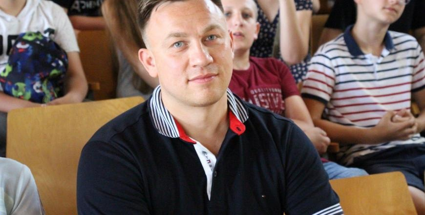 Jotvingių gimnazijai vadovaus D. Vasiliauskas