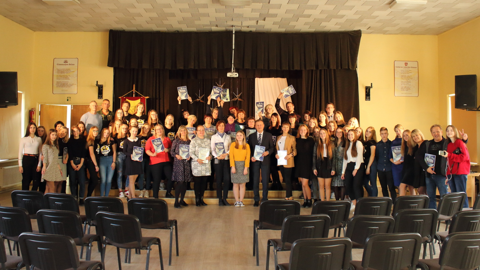 Mokytojų dienos šventė Simono Daukanto gimnazijoje