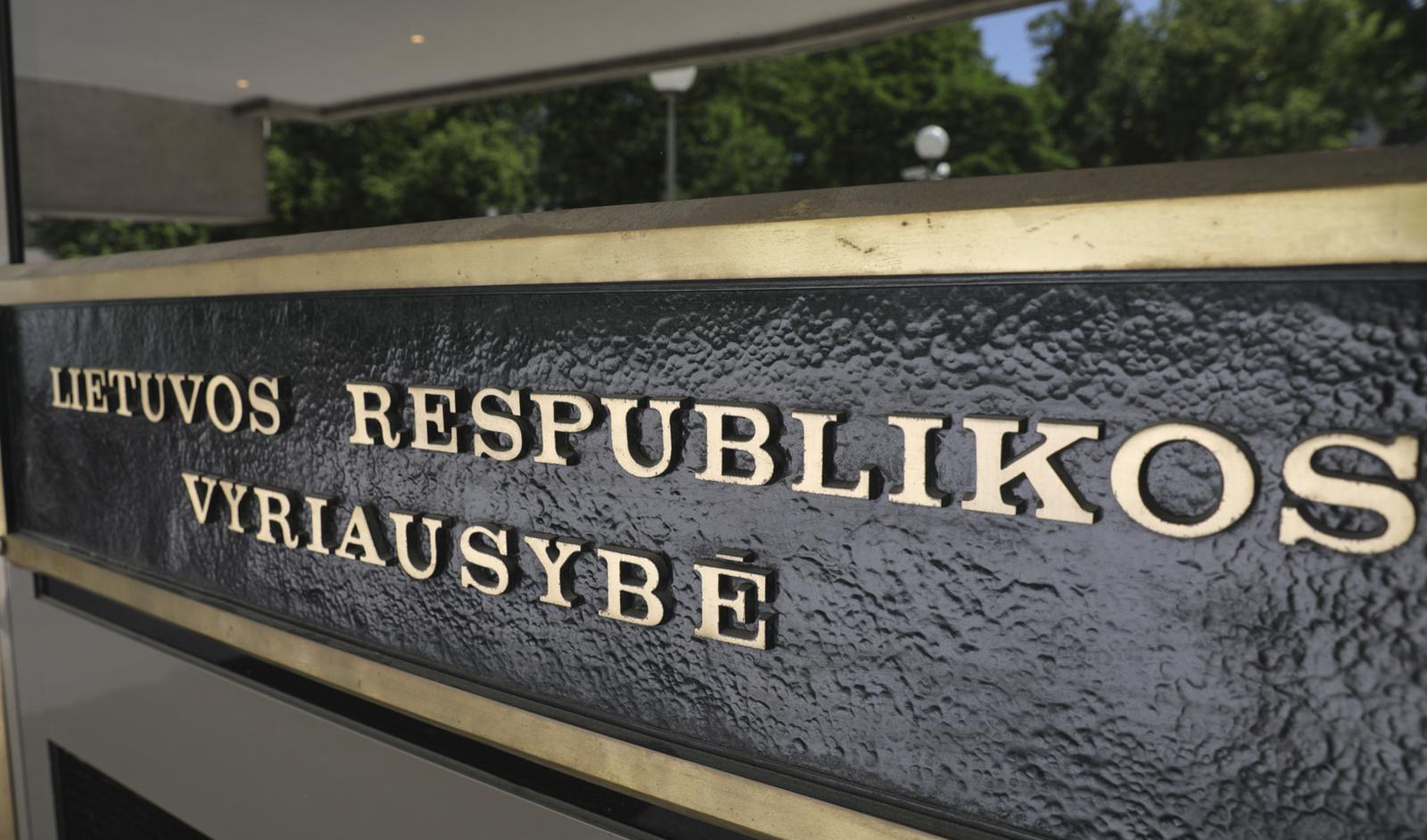 Vyriausybė pasiskolino 45 mln. eurų